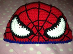 Spiderman hat https://www.facebook.com/KatfishcokeHandmadeCrochet