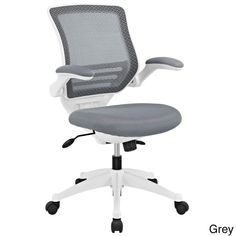 Analysts - $146 - Modway White Frame Mesh Seat Edge Office Chair