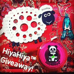HiyaHiya Sheep Needle Gauge, Tape Measure and Puppy Snips We love this picture which from @hiyahiyaeurope ! Last chance to enter our HiyaHiya Giveaway! Just follow @hiyahiyaeurope and repost with #hiyahiyagiveaway to #Win a #HiyaHiyaSheep Needle Gauge, cute Puppy Snips and Panda Tape Measure. The #winner will be announced in the comments on Monday 9th May 2016 at 4pm... So get posting! --- @hiyahiyaeurope (Instagram Name) said.