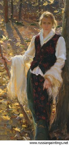 I've been searching for words to describe how much I like this painting...none are adequate.  Gerhartz Daniel F. - 'October'