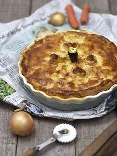 Orientalische Galloway-Pie