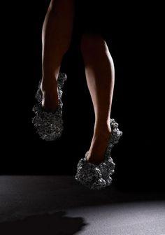 Meteorite Shoes par Swine - Journal du Design