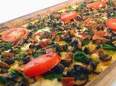 Resultado de imagen de base de pizza de polenta