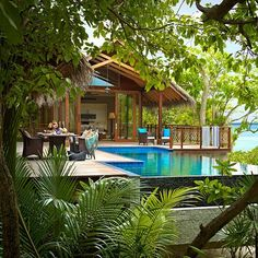 Treehouse Resorts..Shangri La Villingili Resort & Spa, Maldives..Others in Jamaica, St Lucia and Worldwide