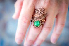 FREE SHIPPING JEWELRY natural green Jade by Bellamagicaljewelry