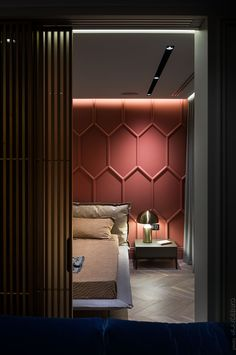 Hot Summer Terracota: Terracotta it's a warm, creamy, natural, rich, full-bodied color and it can complement many interior design styles. Modern Bedroom Design, Contemporary Bedroom, Bed Design, House Design, Interior Design Photos, Luxury Interior, Modern Interior, Cool Apartments, Fashion Room