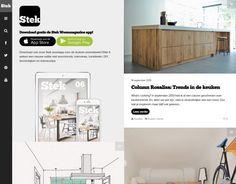 De Stek woonmagazine app