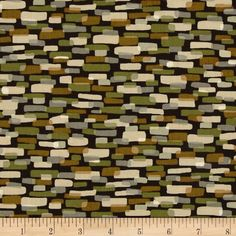 Leafhaven Cobblestones Leaf Brown from @fabricdotcom  Designed by Michele D'Amore for Benartex, this cotton print fabric is perfect for quilting, apparel and home decor accents. Colors include brown, grey, green, butterscotch and cream.