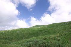 2011.08.27 平尾台、雲の切れ間がハート♪