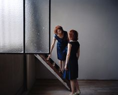Maja Daniels' series on Monette and Mady, two Parisian twins who have lived together and dressed identically for decades.