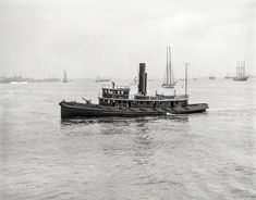 Fireboat 44: 1905   Shorpy   Old Photos