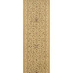 """Meridian Rugmakers Sri Taupe Area Rug Rug Size: Runner 2'2"""" x 8'"""