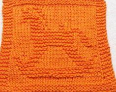 Knitting Cloth Pattern BUTTERFLY PDF by ezcareknits on Etsy