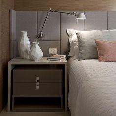 Boa Noite! Tons Pastel formas geométricas formam uma linha clean nesse quarto para dormir bem relaxado e começar a semana bem. (Projeto Juliana Pippi)