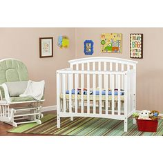 "Perfect but out of stock :-( Dream On Me Ashland 4-in-1 Convertible mini crib - White - Dream On Me - Babies ""R"" Us"