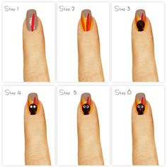 Thanksgiving Nail Art Fall Nail Art Shellac Nail Art Cnd