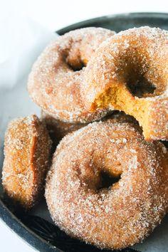 Baked Pumpkin Donut // Salty Canary