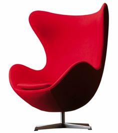 mobilier on pinterest eames egg chair and arne jacobsen. Black Bedroom Furniture Sets. Home Design Ideas