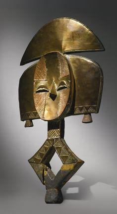 Kota Reliquary Figure, Gabon | lot | Sotheby's - READ cat. note