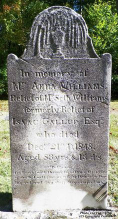 Granite in My Blood: Tombstone Tuesday: Anna SMITH #genealogy