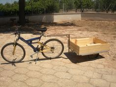 **DIY** How To Build A Bike Trailer - living Green And Frugally