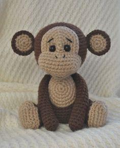 Naughty monkey amigurumi pattern