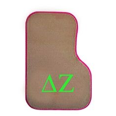 Delta Zeta Sorority Car Mats- ordering them now!