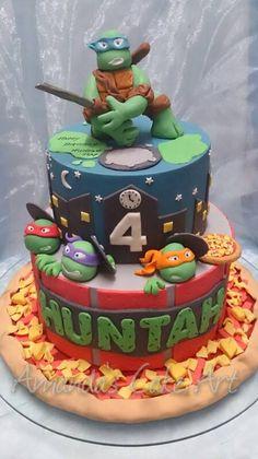 - * TMNT Cake