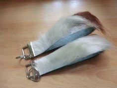 KUHIE, Schlüsselanhänger aus Kuhfell braun-weiß von Gmischtesach:  Die Tasche mit der Kuh !! auf DaWanda.com