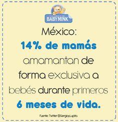 14% de mamás amamantan...