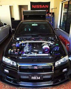 Nissan Skyline GT-R 34 #Nipon #JDM #nissangtrskyline