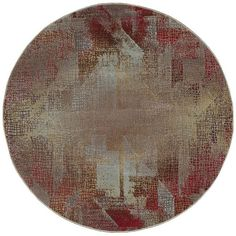 The distressed, modern, abstract design of this luxuriously lasting area rug calls to mind the sensibilities of Cubist art while adding the charm of having survived the passage of time.