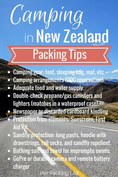 Katie took a road trip and camping adventure in New Zealand after her working holiday. Now she's sharing her packing tips for camping in New Zealand with us.