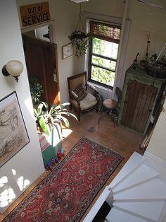 Bohemian Homes: Hall inspiration