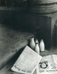 """Bill Brandt, The Morning Papers, 1936 """
