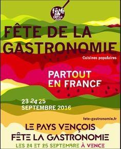 Cette année, le Pays Vençois rayonne sur sa gastronomie. Les 24 & 25 septembre, la Colle-sur-Loup, Coursegoules, Gattières, la Gaude, Saint-Jeannet, Saint-Paul de Vence, Tourrettes- sur-Loup et…