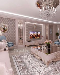 Image may contain: living room, table and indoor Home Room Design, Home Design Decor, Master Bedroom Design, Home Decor Styles, Home Interior Design, House Design, Living Room Decor Cozy, Home Living Room, Center Table Living Room
