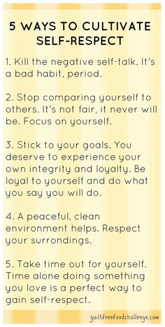 Helpful for all w/self-esteem issues. This pin is a summary of the Self-Respect lesson from our Emotional Muscle Building Audio Series. It is designed to help participants of the Guilt-Free Food Challenge with the emotional side of changing eating habits. The Words, E Mc2, Negative Self Talk, Self Development, Self Improvement, Self Help, Self Care, Life Lessons, Leadership
