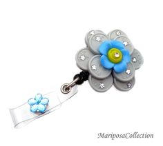 Your place to buy and sell all things handmade Id Badge Holders, Id Holder, Badge Reel, Bottle Top Art, Bottle Caps, Nurse Crafts, Homemade Gifts For Girlfriend, Work Badge, Scrub Life