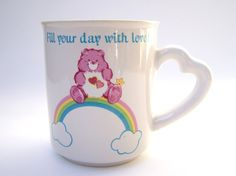 Vintage carebears mug. Want!