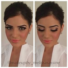 I love a strong eyebrow. This makeup artist (Melissa Sassine) is amazing