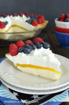 Layers of no bake ch
