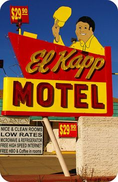 Vintage Motel Signs of Raton, NM 013 by KodasTotems, via Flickr