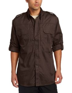 $40 - Propper Men's Long Sleeve Tactical Shirt, Sheriff Brown, ...