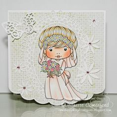Stamping - Here is my card for La-La Land Crafts ...