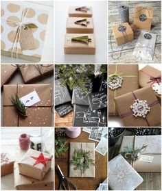 Creative Ideas For Wrapping Your Christmas Presents | http://www.rosesandlace.co.uk/creative-ideas-for-wrapping-your-christmas-presents/