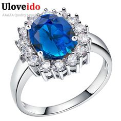 Ring. Queen's Bridal Ring TitaRing Silver Plated Jewelry