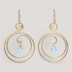 Novica Sun Dew Lapis Dangle Earrings   World Market