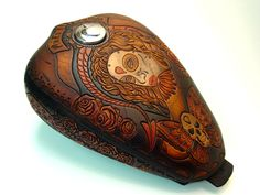 Xian Leather hand carved and hand crafted leather goods