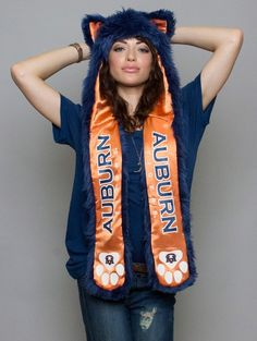 Lorelei really wants one of these animal hoodie things...maybe I should get her this one...Auburn Tigers SpiritHood